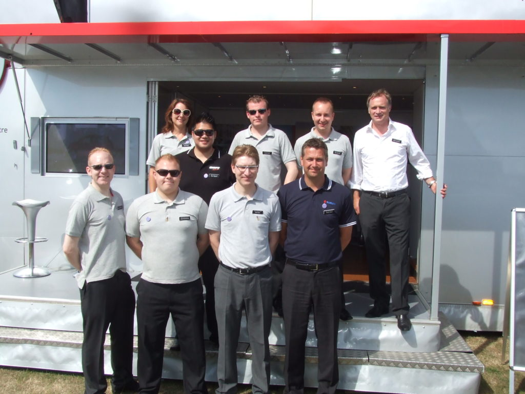 The EMC Team at the Eastbourne Motor Show 2010