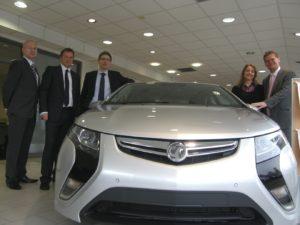 EMC Vauxhall Ampera Launch