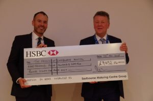 DGH Charity Donation Cheque