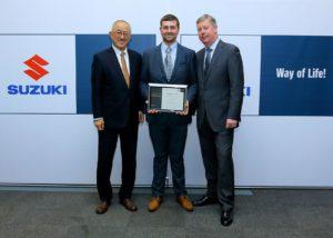 Ben Neve Suzuki Apprentice of the Year 2018
