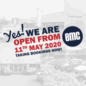 Yes We Are Open from 11th May 2020
