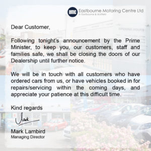 EMC Message from the PM