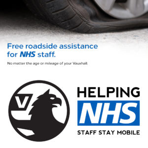 Vauxhall's Free NHS Roadside Assistance