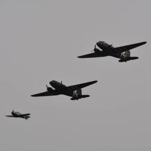 Daks Over Normandy Memorial Flight