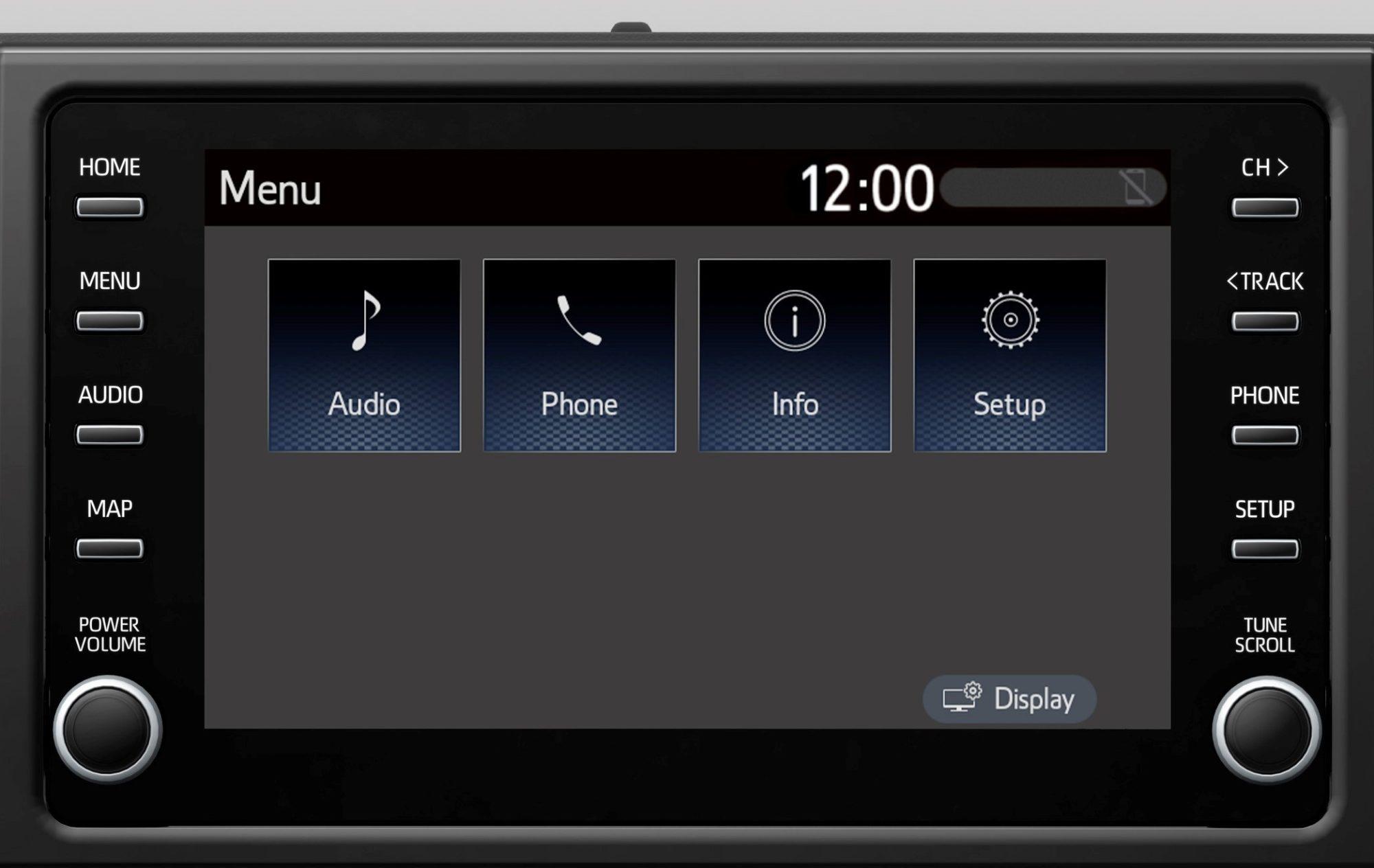 Suzuki Swace 2020 - Multimedia