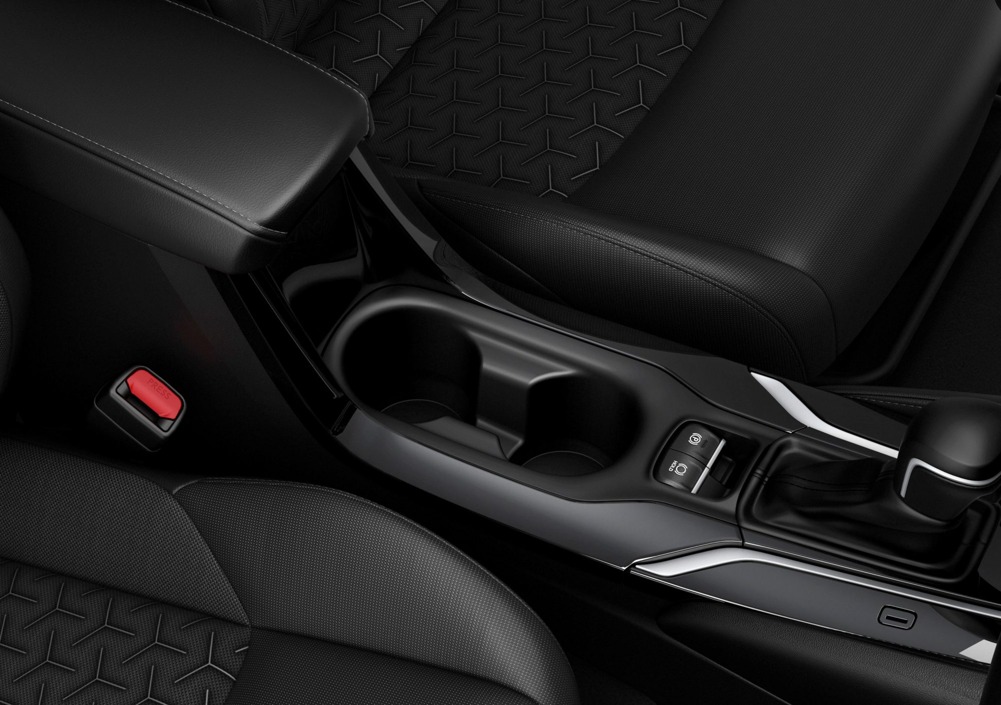 Suzuki Swace 2020 - Front cup holders