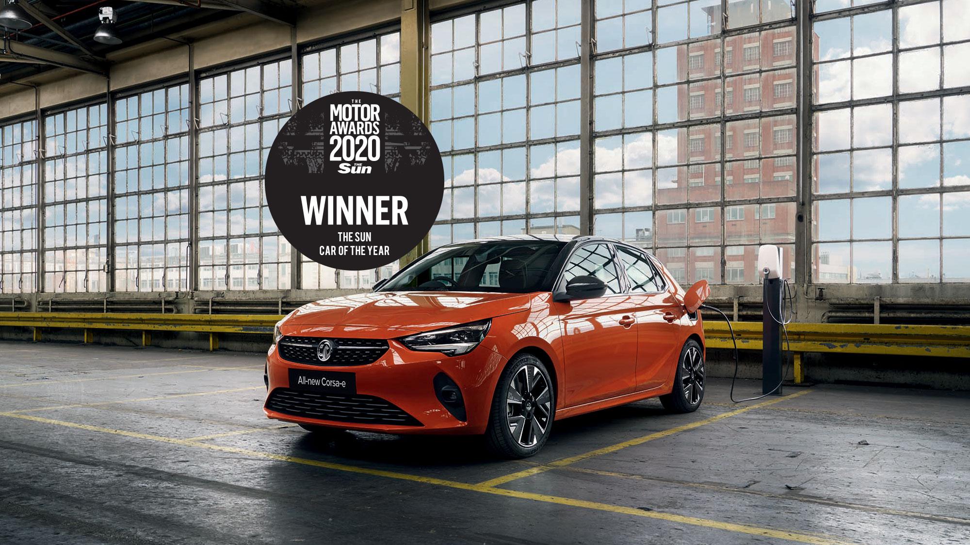 Corsa-e - Sun Car Year 2020 Winner