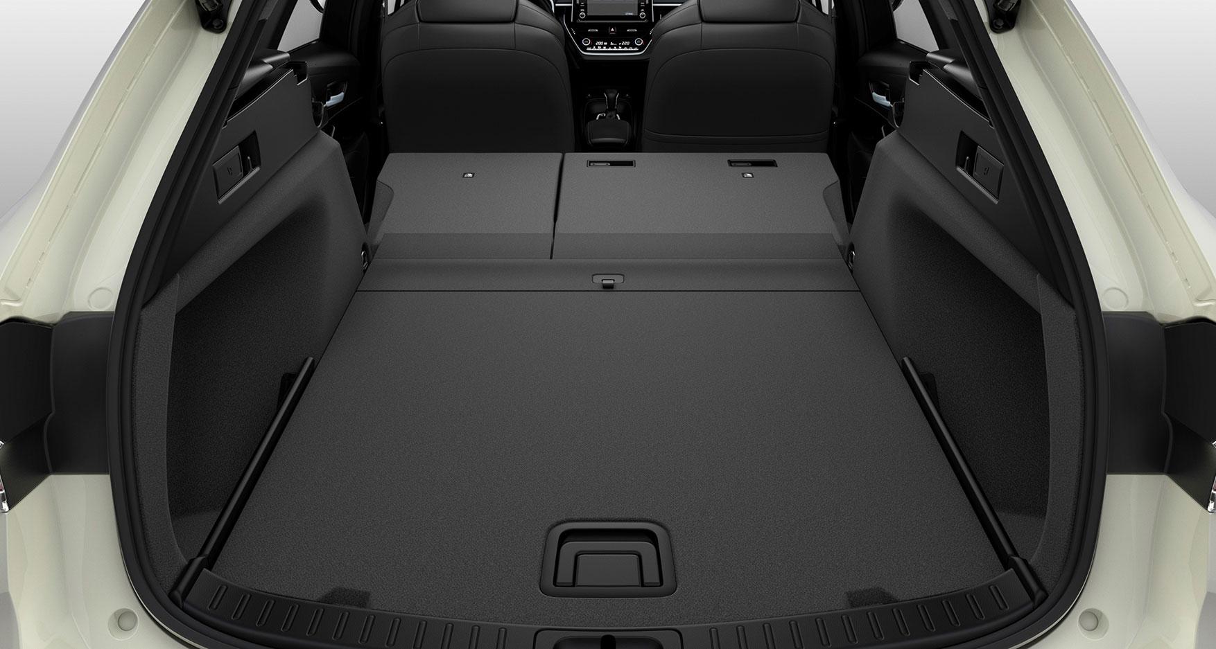 Suzuki Swace 2020 - Rear seats folded