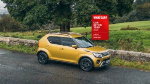 Suzuki Ignis 2021 What Car? Winner
