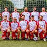 EMC Football Team play their first 11 a side game