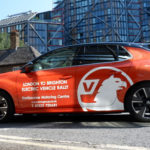 The new Electric Corsa joins the First ever London to Brighton Electric Vehicle Rally!